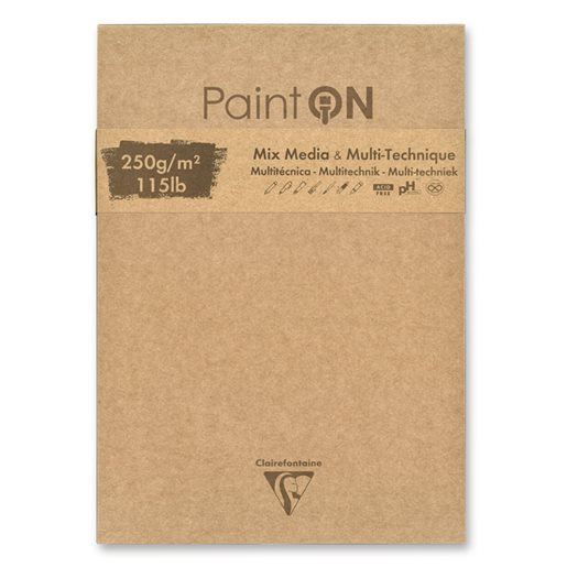 Clairefontaine Paint'On assorted, 176x250 mm