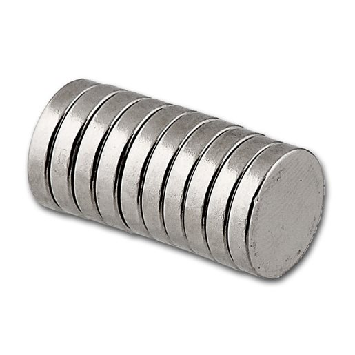 Powermagneetti, 10x2 mm