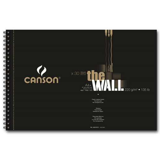 Canson Markerblock The Wall, A4