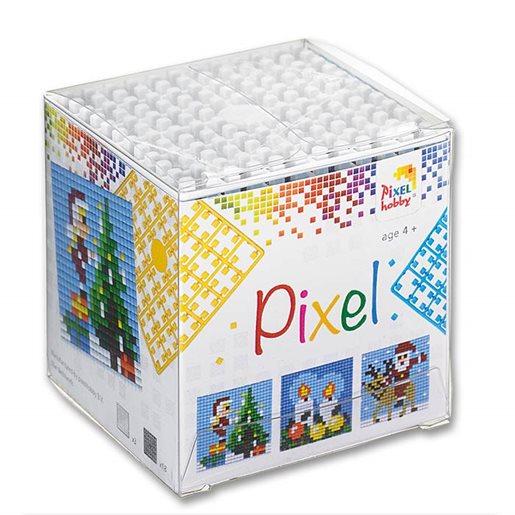 Pixel kub, joulukuviot