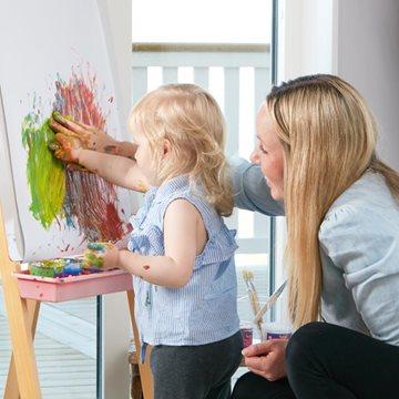 Maalaa lasten kanssa